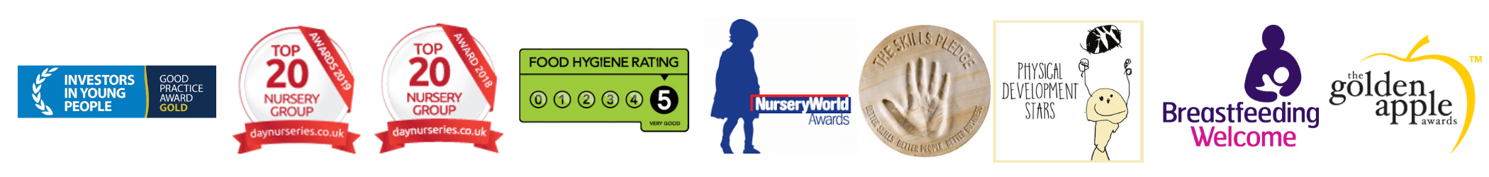 Holyrood Nursery Prestwich Awards