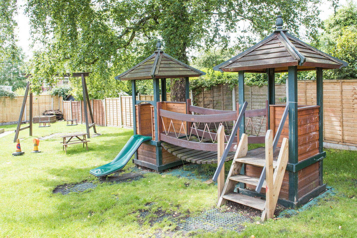 Holyrood Nursery Prestwich Playrooms Outdoors